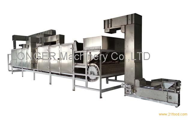 Hot sell continuous soybean roaster