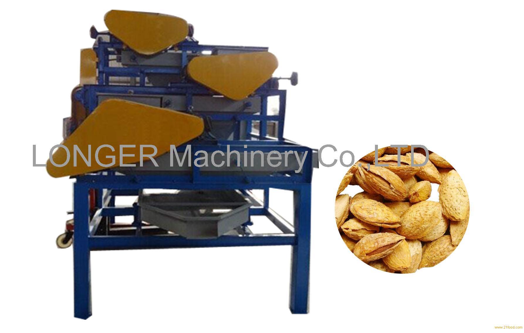 Almond Three-Stage Shelling Machine