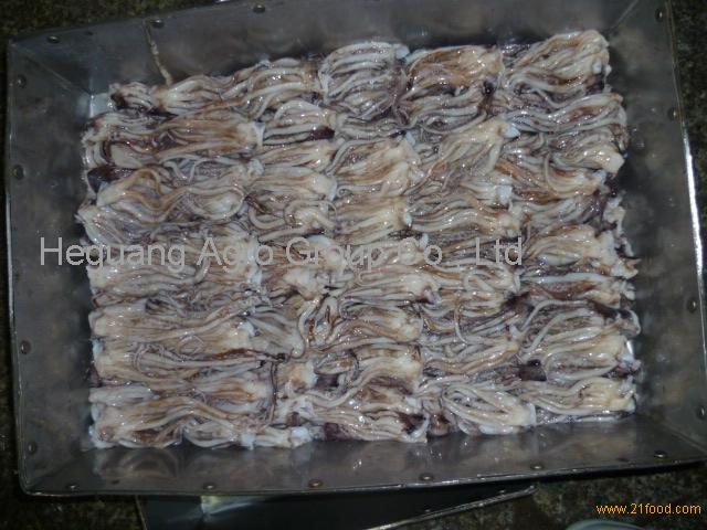 Frozen Giant Peru Squid Tentacle (Illex Argentinus) for sale