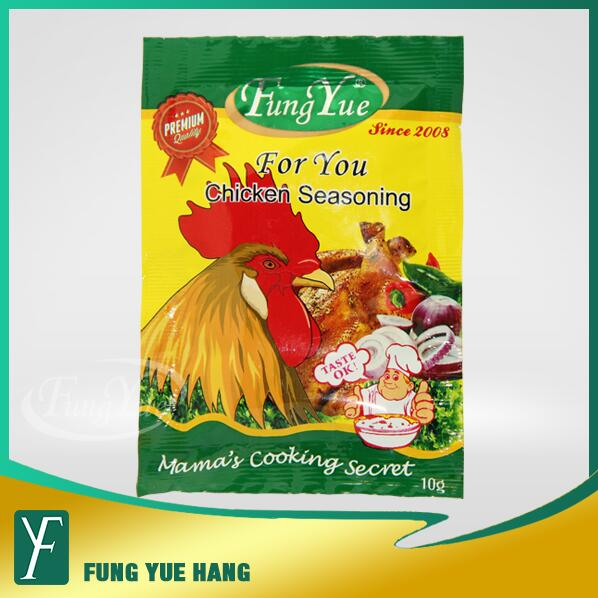 10g Chicken Condiments Halal Powder Seasoning