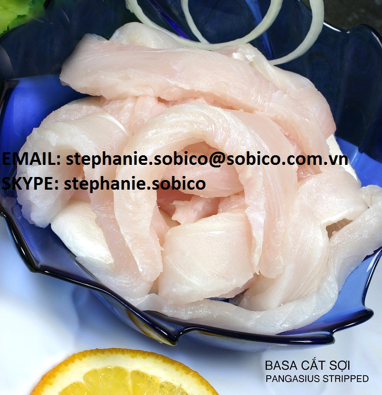 PANGASIUS (basa, tra fish, dory, swai, river fish) FILLET, STRIPPED