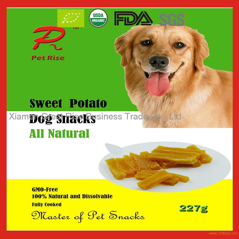 All natural instant air dried sweet potato treats for pet for All natural pet cuisine