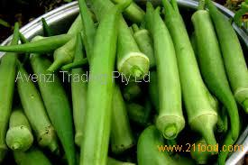 lady finger vegetable (Okra)