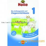 Holle Organic Baby Infant Follow-on Goat Milk Formula Stage 1 - 400g