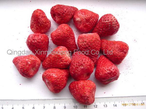 freeze dried strawberries how to make