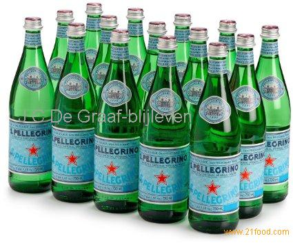 San Pellegrino Sparkling Natural Mineral Water, San Pellegrino Exporter, San Pellegrino Supplier