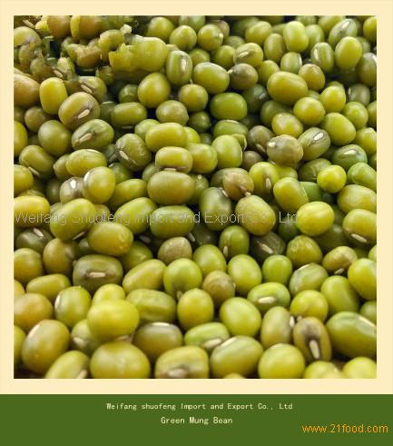 First Grade Non-GMO Green Gram Seed/Green Mung Bean from China