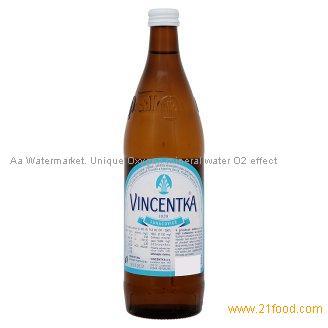 Natural Mineral Water Vincentka