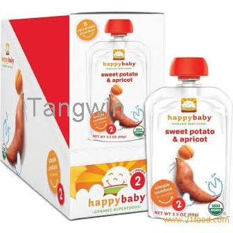 16 Packs Happy Baby Organic Baby Food 2 Simple Combos