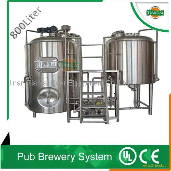 800Lpub/ hotel beer brewery equipment with CE