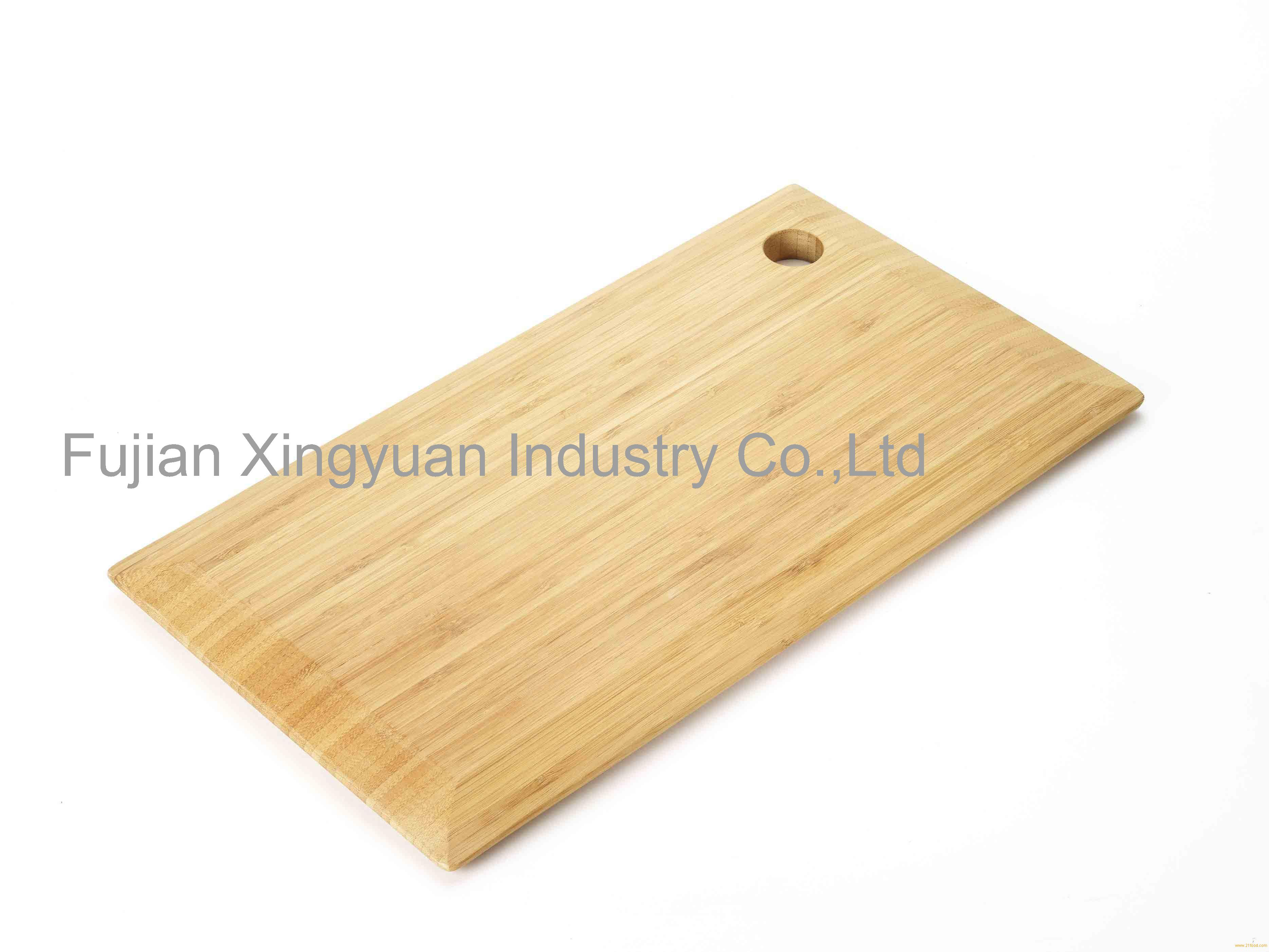 Kitchen factory large bevelled edge fruit bamboo cutting