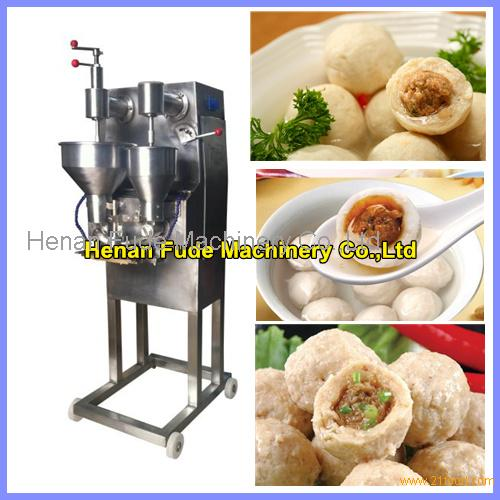 Automatic stuffing meatball forming machine , fish ball making machine,beef meatball machine