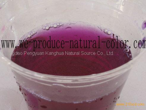 manufacture radish red colorant