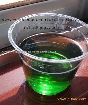 chlorophyll natural color