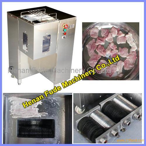 fresh meat cutter,meat slicer,cubic meat cutting machine