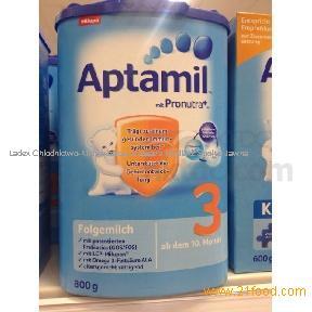 Milupa Aptamil, Nutrilon, HiPP Bio, Friso Baby milk