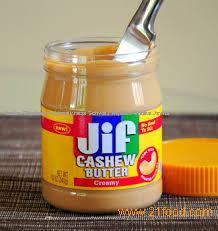 Cashew Nuts / Peanut Butter