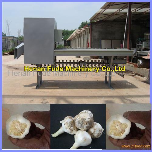 Garlic root cutting machine, garlic root cutter