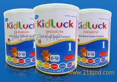 kidluck premium infant formula/ Kidluck Baby Milk Powder