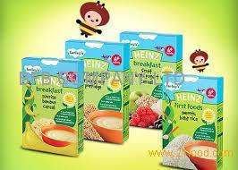 Heinz Baby Food Wholesale Organic Whole Grain Oatmeal