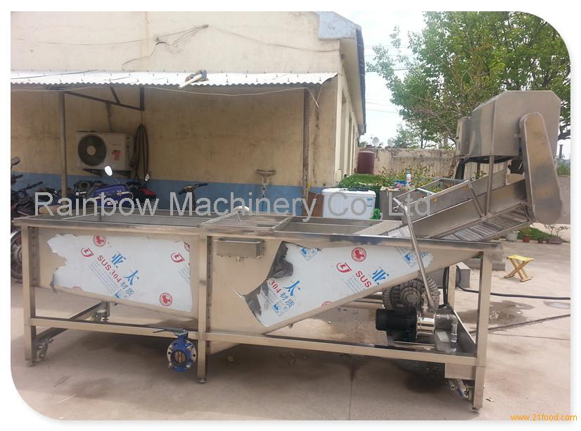 High Capacity Vegetable Cleaning Machine