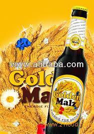 """Cheap German Beer/ German Beer """"Golden Malz"""" Sweet Beer"""