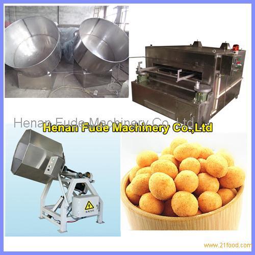 flour coated peanut making machine