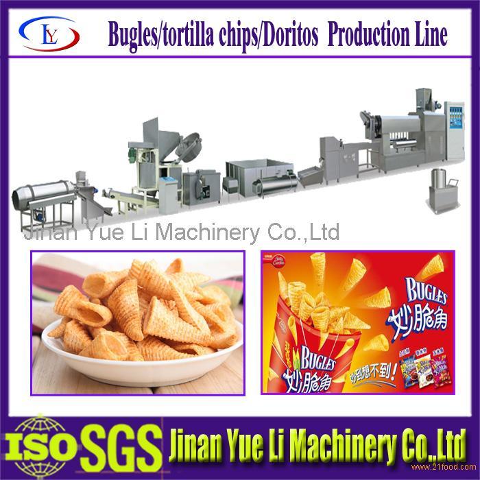 Frying Wheat Snacks Machine/Food Machine