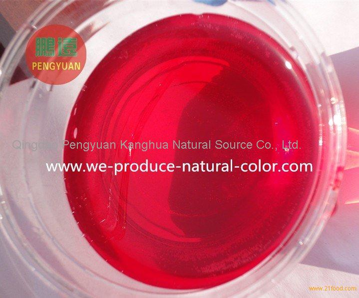 liquid or powder beet root red