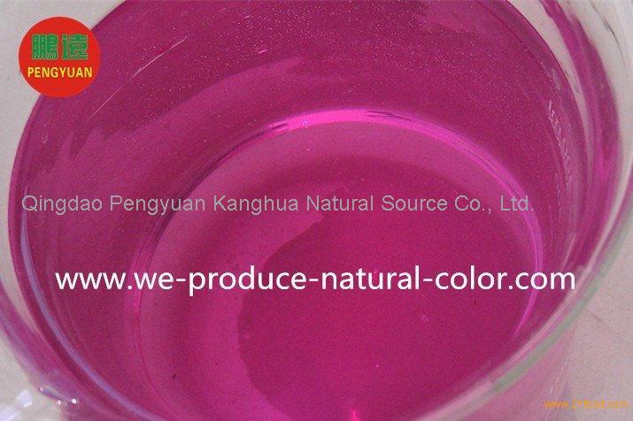 liquid or powder cabbage red pigment