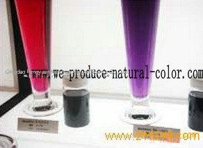 chinese producer natural color purple sweet potato color