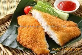 Breaded tilapia Fillet