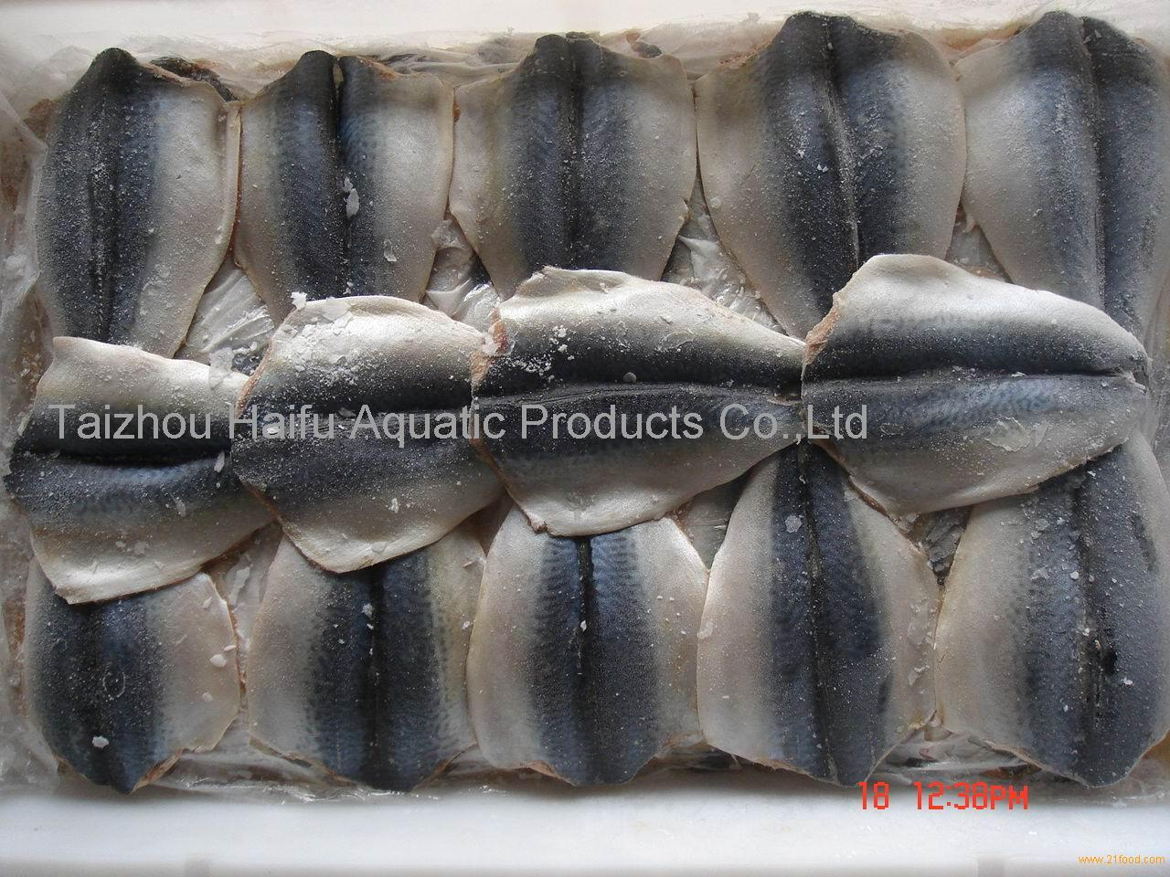 frozen block mackerel butterfly flaps(Scomber Japonicus)