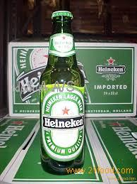 Heineken Beer in Bottles and Cans (Lager and Pilsener)