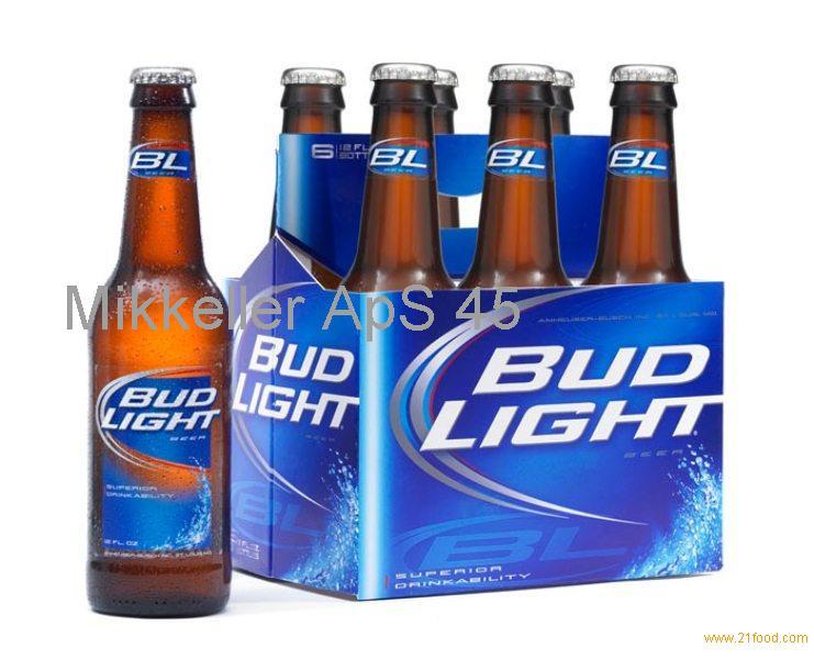 American Bud Light beer