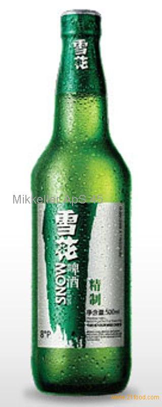 Green bottled Snow Beer