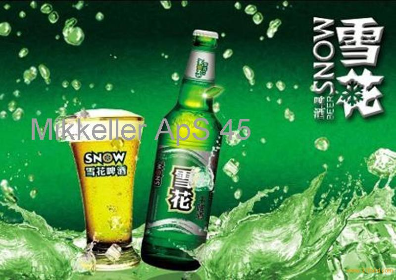 !!! Snow beer available for sale!