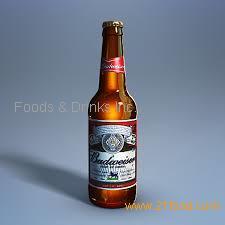 Budweiser Beer Bottles 330ml