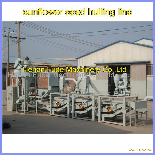 Sunflower seed hulling line ,sunflower seeds shelling machine