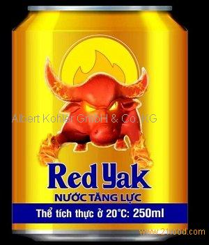 Red Yak Energy Drink