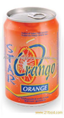 Star Orange Soft Drink