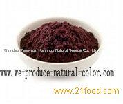supplier purple corn color
