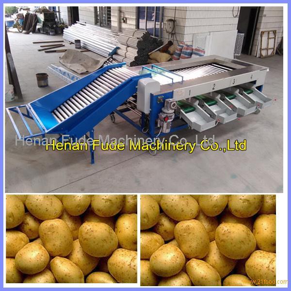 potato grading machine, potato grader