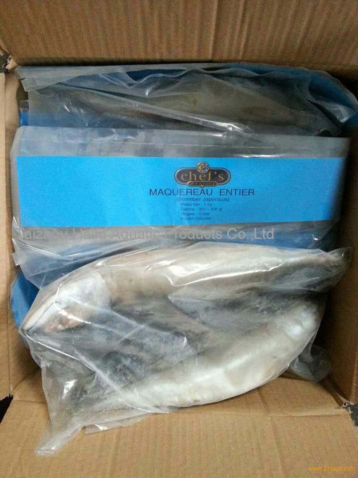 frozen rider bag mackerel fish