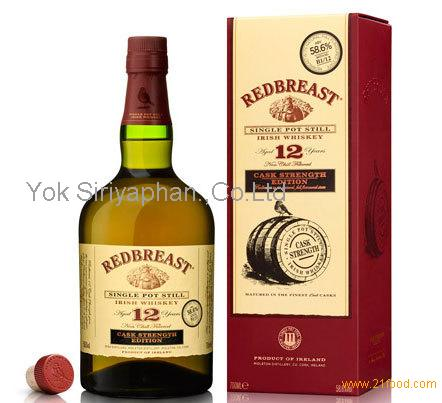 Redbreast 12 Year Old Cask Strength Irish Whiskey 750ml