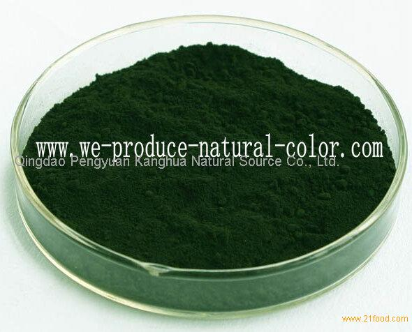 confection using colorant sodium copper chlorophyllin