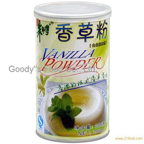 VANILLA Flavoured Powder (strong flavor) 200g Master Chu