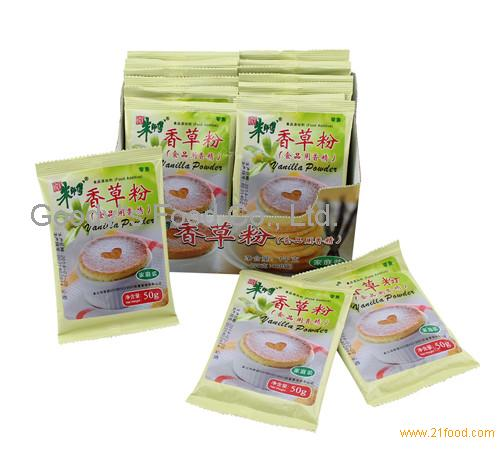 Vanilla Powder(50g) family packing Master Chu