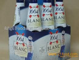d720b9ae3834 Kronenbourg 1664 blanc beer in blue 25cl and 33cl bottles available now at  competitive prices
