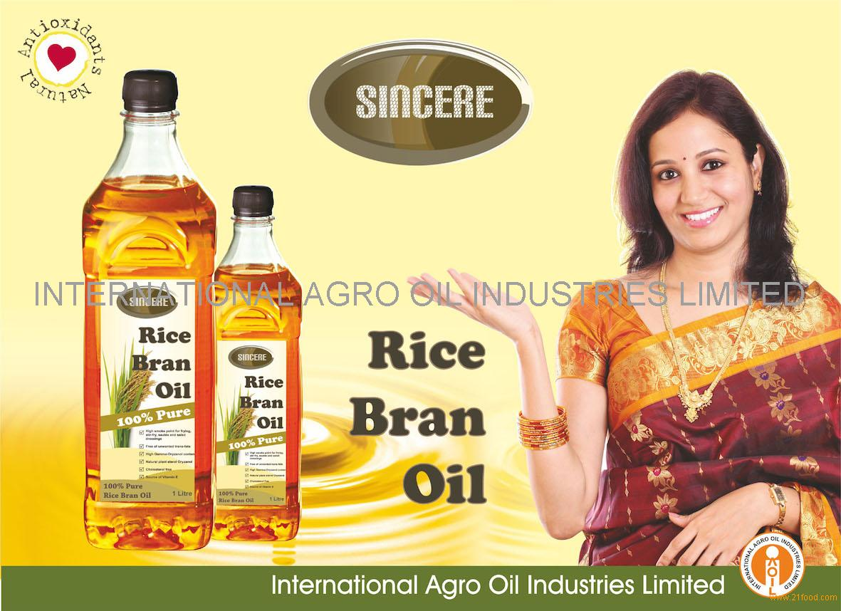 how to use rice bran oil